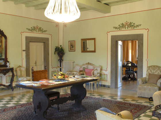 Villa farinella i saloni del nostro bed breakfast for Saloni interni
